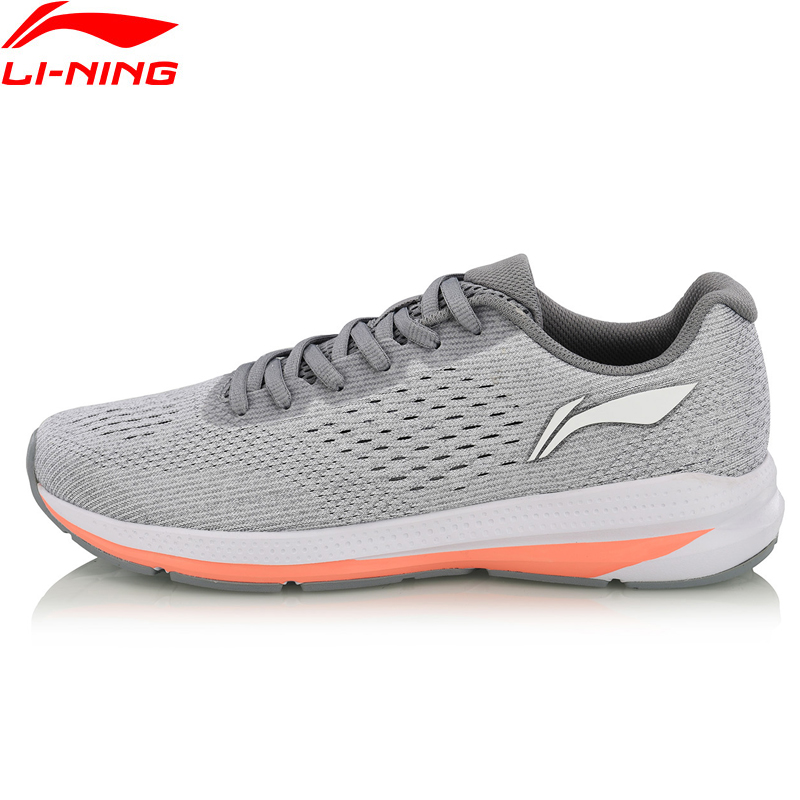 (Break Code)Li-Ning Women REACTOR Cushion Running Shoes Light LiNing Li Ning Anti-Slippery Sport Shoes Sneakers ARHN056 XYP750