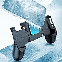 Cep telefonu soğutucu yarı iletken soğutma Fan tutucu iPhone Xs için Max Xs XR Samsung cep radyatör Gamepad denetleyici