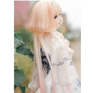 2020 Новое поступление 1/3 1/4 Bjd парик высокая температура мода стиль провод Bjd парик SD для BJD кукла парик