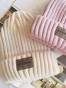 Winter Hats Unisex-Cap Knitted Warm Fashion Woman Casual for Beanies Men Solid Hip-Hop