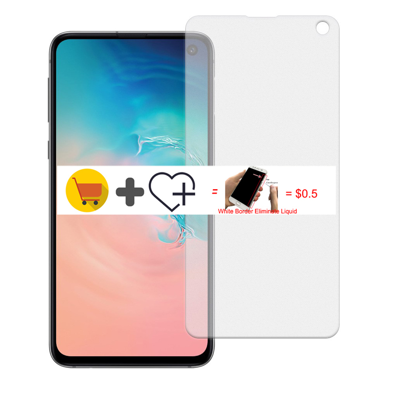 Full Cover Glass for Samsung S10e Matte Frosted Tempered Glass on For Samsung Galaxy S10e S10 e Screen Protector Safety Film 9H