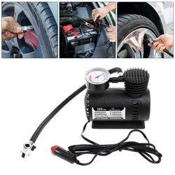 DC 12V 300PSI авто шины Надувное Авто воздушный компрессор насос для шин с манометром для автомобиля велосипед мяч резиновый Dinghy