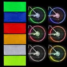 LEEPEE Автомобиль Стайлинг наклейка на обод мотоцикл велосипед отражатель наклейка для колес колеса Светоотражающая наклейка велосипед Велоспорт безопасность