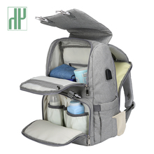 Get more info on the Baby Diaper Bag With USB Interface Large baby nappy changing Bag Mummy Maternity Travel Backpack for mom Nursing bags
