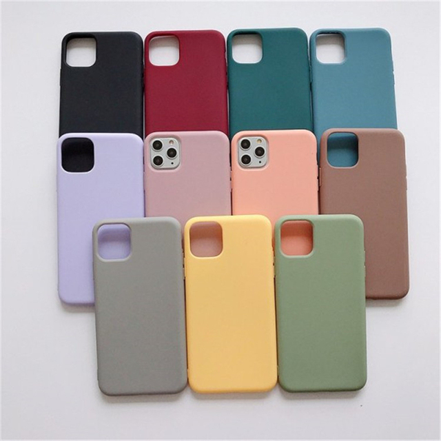 Cute Candy Color Phone Case For iPhone