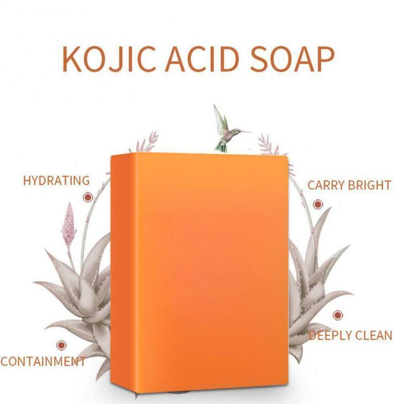 100% чистое Отбеливающее мыло с койной кислотой, натуральное растение, глицериловая койная кислота, средство для снятия макияжа, мыло, увлажн...