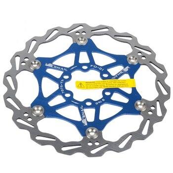 Rotores de disco de bicicleta de montaña, alta calidad, DH, 180mm