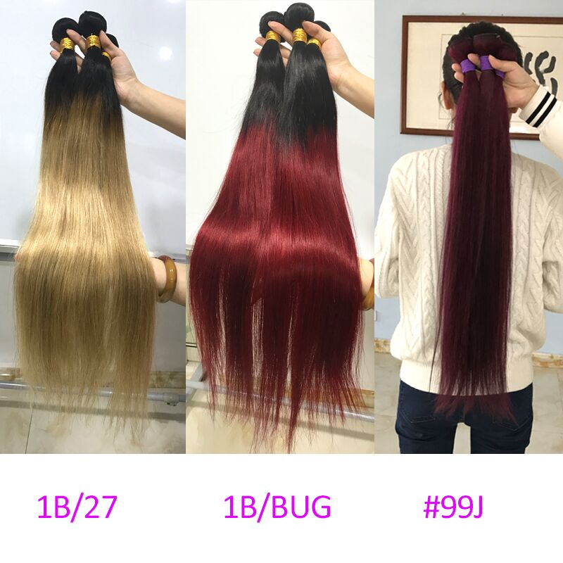 Straight Ombre Pieces Human