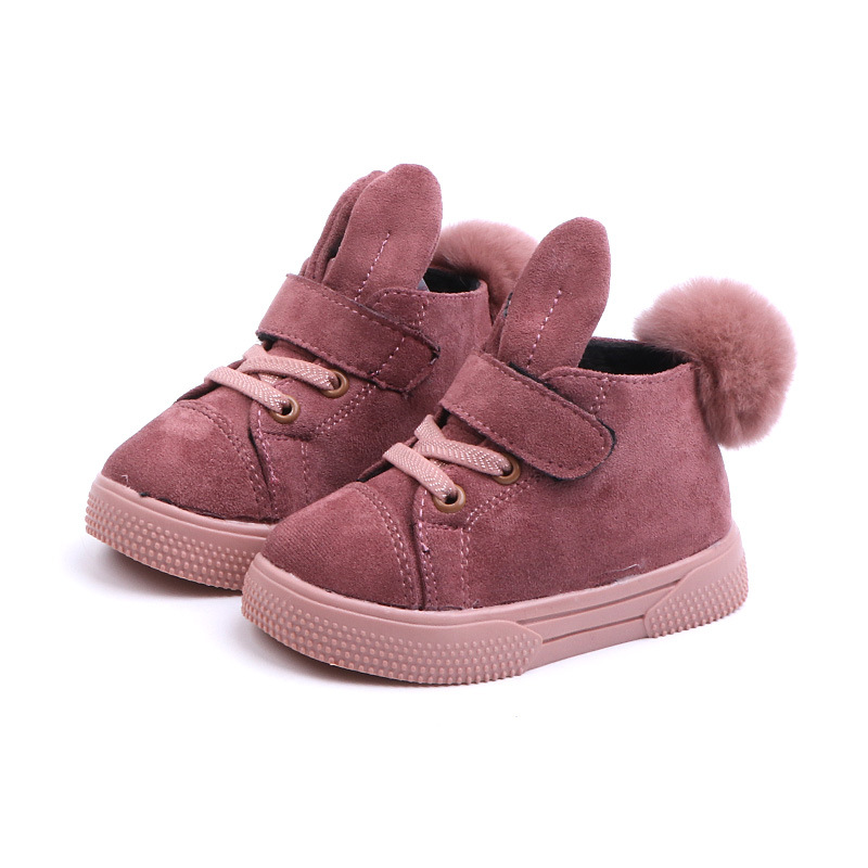 Children Winter Snow Warm Boys Girls Martin Sneaker Boots Kids Baby Casual Shoes