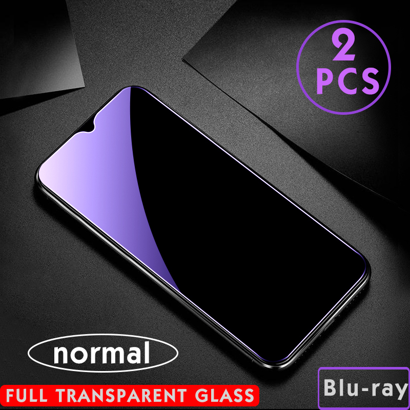 2Pcs/lot Matte Screen Protector Tempered Glass For Xiaomi Redmi note 8 pro note 9 5