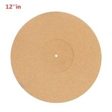 12 inch Cork Turntable Mat Audiophile Anti Static Anti Shake Slipmat LP Vinyl Record