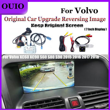 Interface Reversing camera|for Volvo XC60 XC90 S60 S80 S90 2015 2016 2017 2018 Adapter Original screen upgrade image Rear Camera image