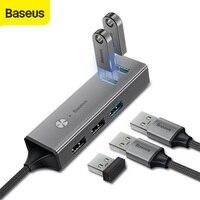 Baseus 5 porte USB HUB 3.0 tipo C a Multi USB Splitter Adapter ricarica USB per dispositivi Macbook adattatore HUB USB Splitter USB