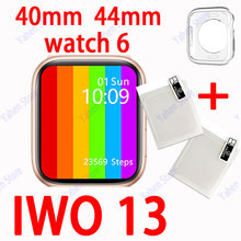 Iwo 13 Smart Horloge W56 Originele 44Mm Serie 6 Bluetooth Call Smartwatch Iwo13 Voor Ios Android Pk Iwo 12 pro W26 W46 Max Horloge