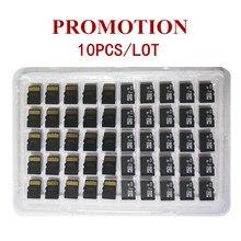 Awans! 10 sztuk/partia 1GB 2GB 4GB 8GB Micro Card 64MB 128MB 256MB 512MB karta TF Micro TransFlash karta pamięci na telefon komórkowy