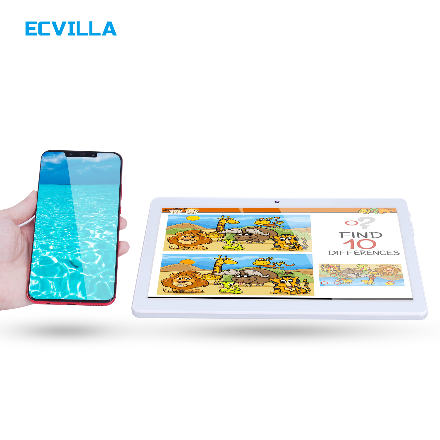 10 1 inch 3G phone call Android Tablet PC SIM Card 2GB 32GB IPS Quad Core