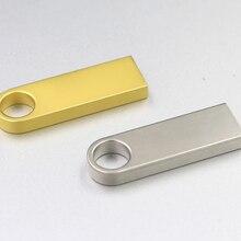 Модный супер мини металлический usb флеш-накопитель 4 ГБ 8 ГБ 16 ГБ флеш-накопитель 32 Гб 64 Гб 128 ГБ usb флеш-накопитель Флешка cle usb