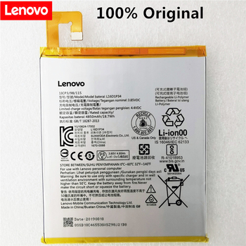 4850mAh/18.7Wh 3.8V L16D1P34 Replacement Battery For LENOVO TAB4 8 TB-8504N TAB4 8 plus Li-ion Bateria Li-Polymer Batterie цена 2017