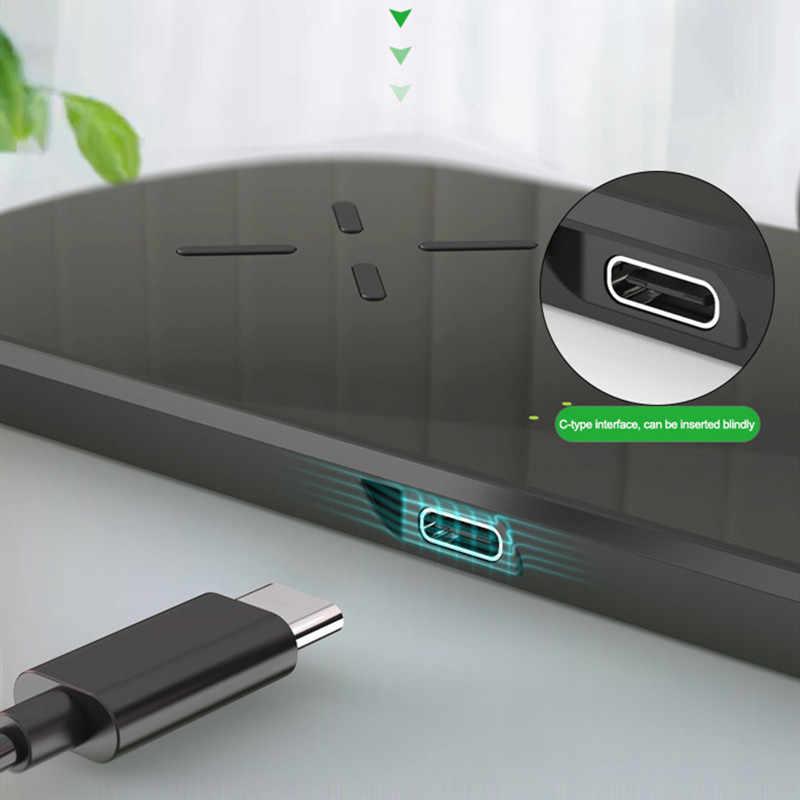 3 ב 1 מטען אלחוטי עבור iPhone 11 XS XR X 8 בתוספת Samsung S10 טעינת Dock עבור אפל שעון 5 4 3 2 1 מהיר מטען עבור Airpods
