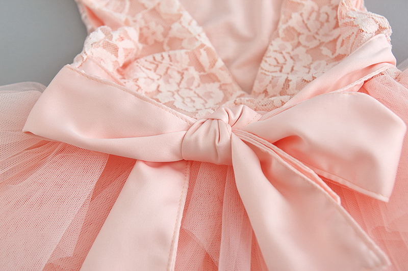 119-11-Lace Tulle Girls Dress
