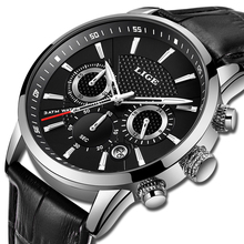 LIGE New Watch Men Fashion Sport Quartz Clock Mens Watches Top Brand Luxury Leather Business Waterproof Watch Relogio Masculino