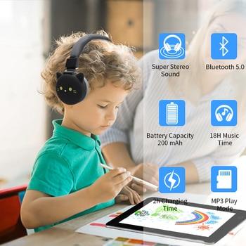 Cute Kids Girl Cartoon Blueooth Headphones 3D Cat Rabbit Animal Wireless Music Helmet Gaming Headset For Moible Phone MP3 PC 3
