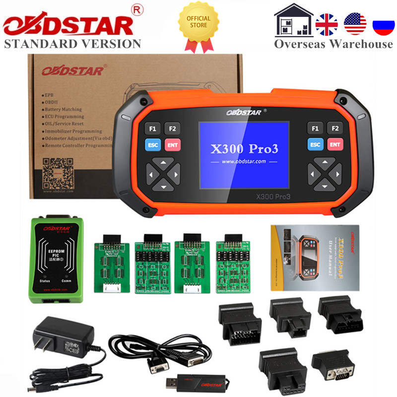 OBDSTAR X300 PRO3 Standard Immobiliser Odometer EEPROM for Toyota G & H Chip All Keys Lost Lifetime Free Upgrade