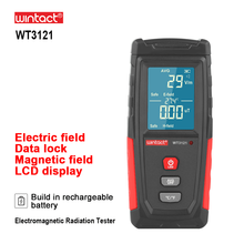 RZ Electromagnetic Field Radiation Detector Tester Emf Meter Rechargeable Handheld Portable Counter Emission Dosimeter Computer(China)