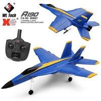 XK-Avión de radiocontrol A190 F-18, Avión de 6 ejes con Control remoto, F/A-18C, Hornet, 2 canales, 2,4 GHZ