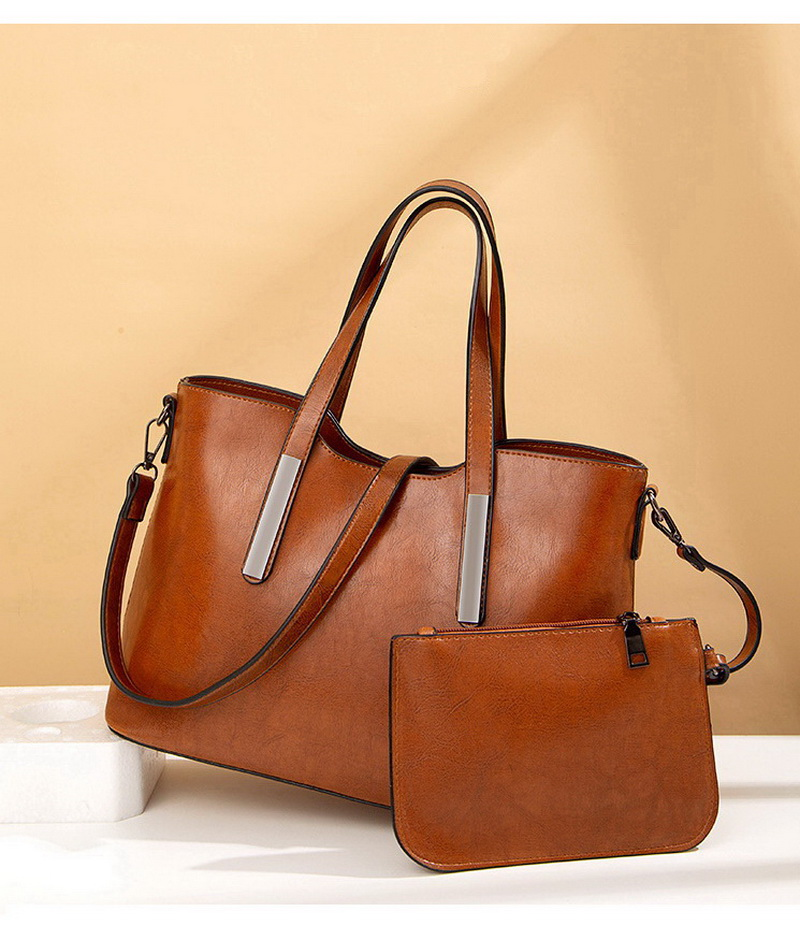 Ha2e839a4eaf84c94a0fef5daf7e500aaT - Women's Vintage Handbag | Oil Wax Leather