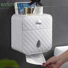 Настенный держатель для туалетной бумаги estiorm водонепроницаемый