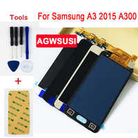 Adjust 4.5 for Samsung Galaxy A3 2015 A300 SM- A300X A300H A300FU A300FN LCD Display Screen + Touch Digitizer Sensor Assembly
