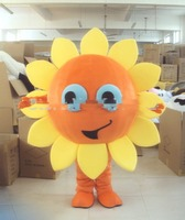 Sunflower Heronsbill Mascot Costume Suits Cosplay Party Game Dress Carnival Fursuit Interesting Funny Cartoon Character Clothing