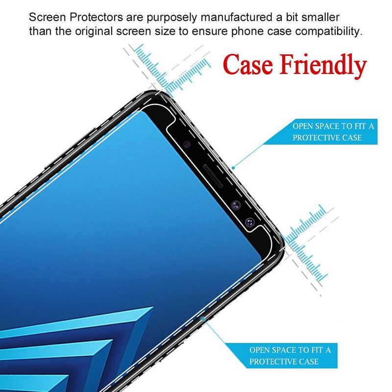 9H HD Gehärtetem Glas auf Für Samsung Galaxy A6 A8 J4 J6 Plus 2018 J2 J4 Core A9 J8 2018 Glas Film