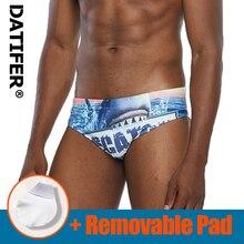 Datifer hommes maillots de bain bas Sexy boxeurs hommes slip de bain sport maillots de bain Shorts Sunga homme maillot de bain