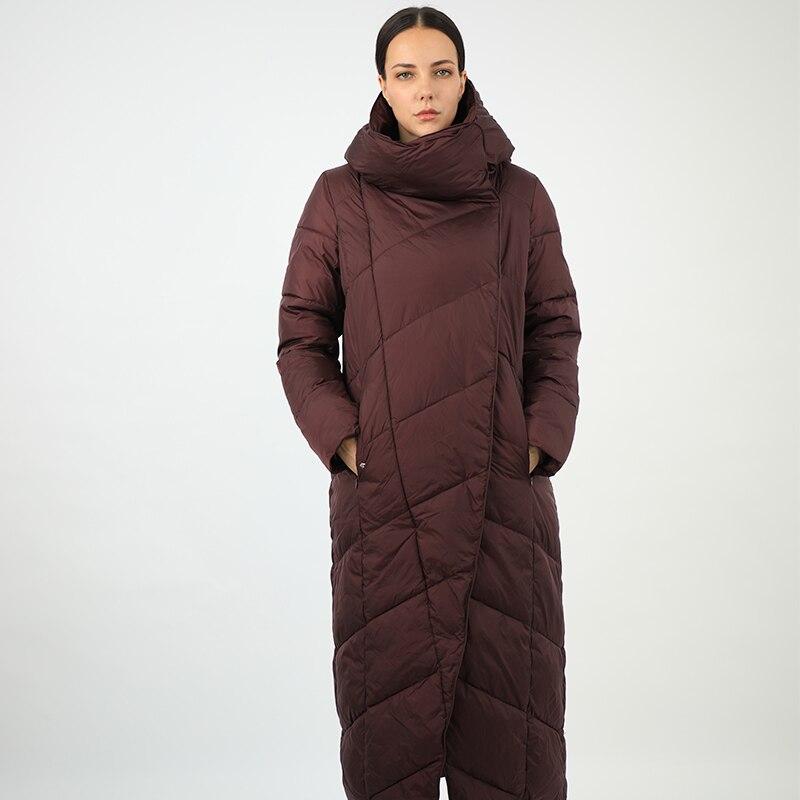 Новинка 2020, хлопковый женский пуховик, длинная парка, верхняя одежда north с капюшоном, теплый пуховик, стеганое пальто для женщин, большие размеры, montcler|Парки| | АлиЭкспресс
