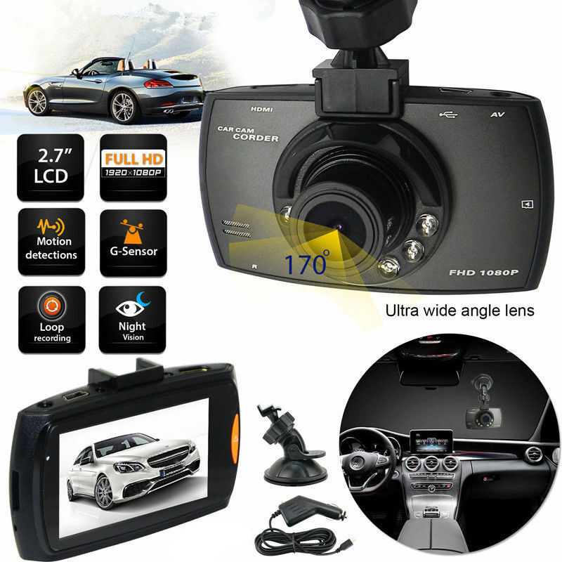 HD 2.2inch LCD 1080P <font><b>Car</b></font> <font><b>DVR</b></font> <font><b>Vehicle</b></font> <font><b>Camera</b></font> <font><b>Video</b></font> <font><b>Recorder</b></font> Night Vision Dash Cam FKU66 image