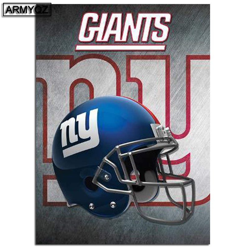 Diamond paintingNFL New York Giants Team Full Square/Round Drill Wall Decor Inlaid Resin Embroidery Craft Cross stitch image