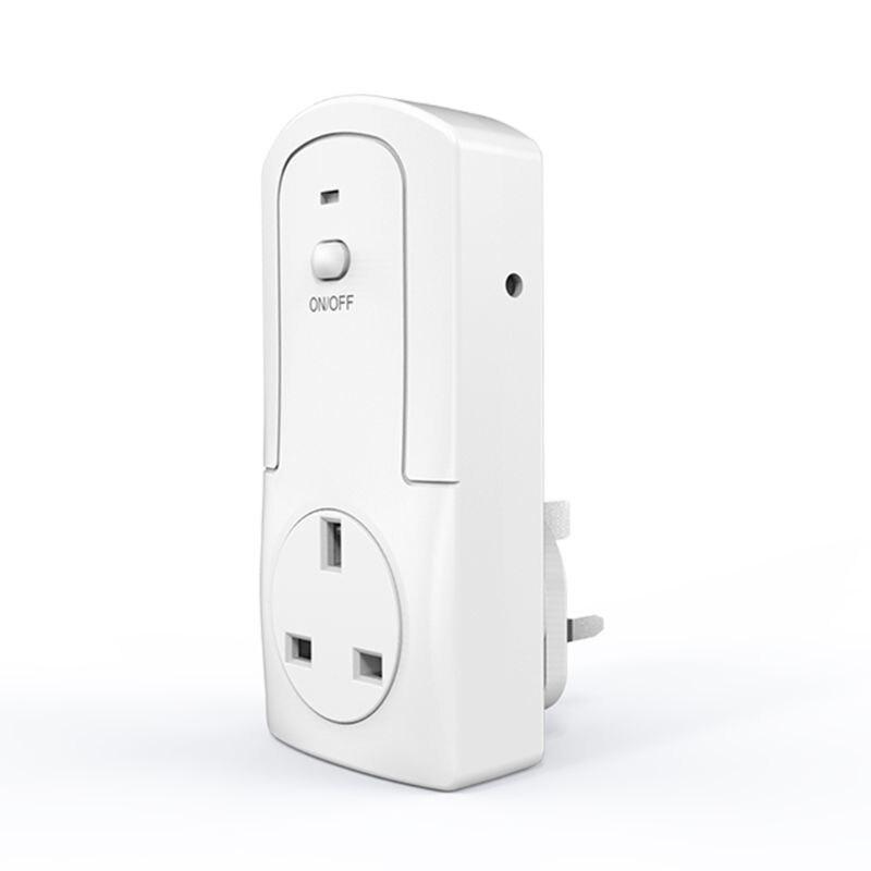 Smart WiFi Plug Remote Control Thermostat Socket Temperature Humidity Controller 19QB
