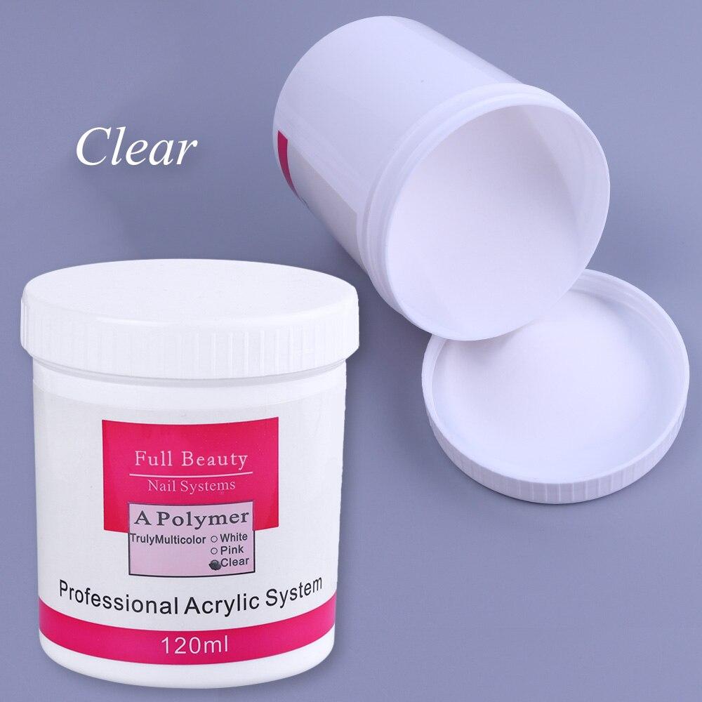 Гвозди 1 шт. акриловый порошок прозрачный розовый белый резной Кристальный полимерный 3D для Неил арта украшения для кончиков ногтей строите...