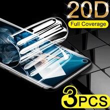 3 шт полное покрытие экрана протектор для Huawei Honor 20 Pro 8 9 10 Lite Гидрогелевая пленка для Honor V20 V9 V10 10i Защитная не стеклянная