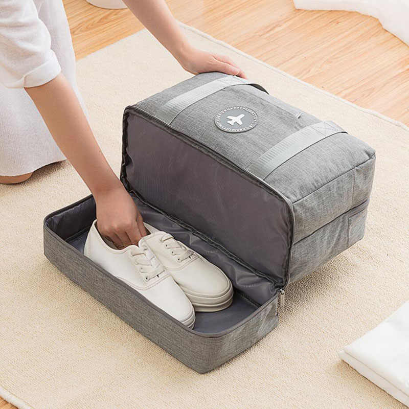 Travel Bag Waterproof Large Capacity Multifunctional Dry Wet Separation Storage Handbag Travel Duffle  Weekend Bag Packing Cubes
