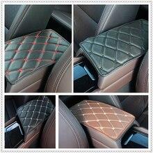 Автомобильная накладка на подлокотник автоматическое Хранение коробка подлокотник подушка для Chevrolet Blazer траверс Тахо Equinox Trax Соник FNR-X болт