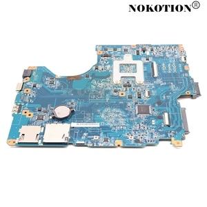Image 2 - Nokotion A1784741A PCG61611M DA0NE7MB6D0 DA0NE7MB6E0ノートパソコンのマザーボードソニーvaio vpceeシリーズHD4200メインボード送料cpu