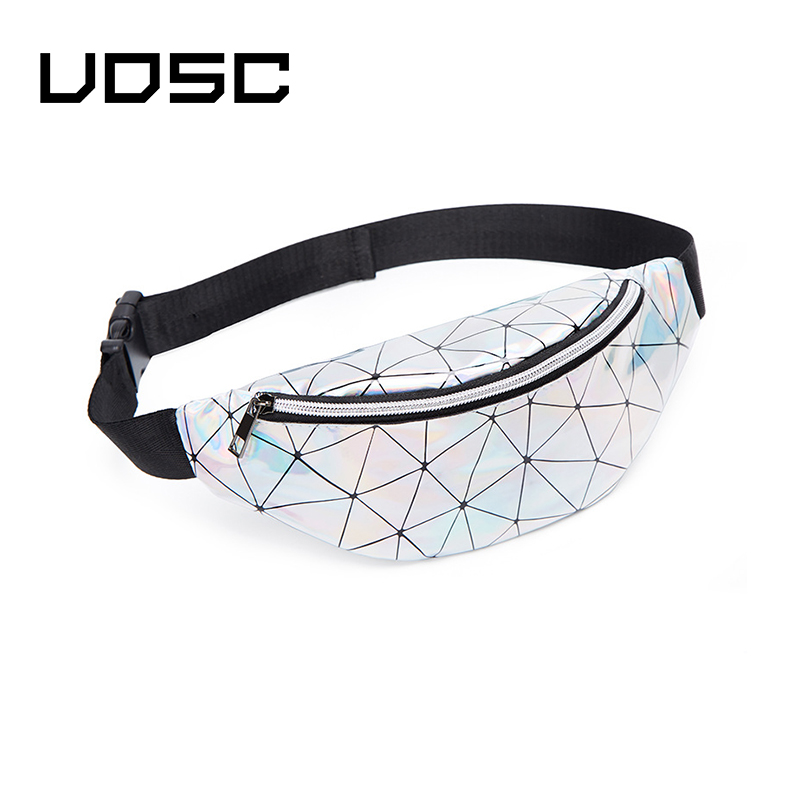 UOSC Unisex Chest Bag For Women 2019 Fanny Pack Waist Bag Waterproof Fanny Pack For Women Fashionable Girl Menwaist Bag Women