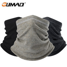 Winter Neck Warmer Bandana komin Fleece Pipe półmaska sport Thermal narciarstwo Gaiter turystyka kolarstwo Snowboard mężczyźni kobiety(China)