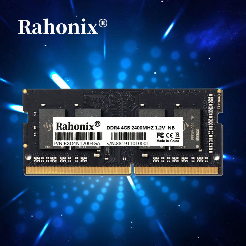DDR4 laptop memory ram 8GB 2400MHz 2666MHz memories ddr4 4GB 2133 2400MHz sodimm Rahonix ddr4 notebook memoria high performance image