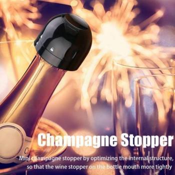 Szczelny próżniowy butelka czerwonego wina Cap Stop silikonowy uszczelniony zachowaj świeżość zatyczka do wina akcesoria barowe do butelka do szampana czerwone wino tanie i dobre opinie Aihogard CN (pochodzenie) ABS+food grade silica gel Ekologiczne Na stanie Champagne Stopper Korki do wina CE UE 5 cm