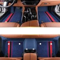 Custom made car floor mats for bmw x3 e83 x3 f25 g30 x5 e70 x6 e71 z4 e85 e70 f45 f34 f11 f10 f15 f25 x4 accessorie rugs carpet