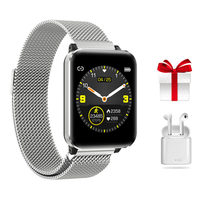 1.3inch Smart Watch Men IP67 Waterproof Smartwatch Women Heart Rate Monitor Fitness Tracker GPS Tracking Watch Sport For Android
